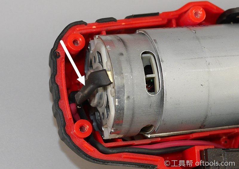 16、电机引线用了热缩管