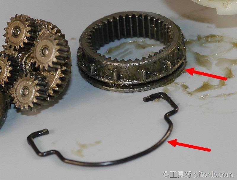 31、拨杆和档位切换齿轮