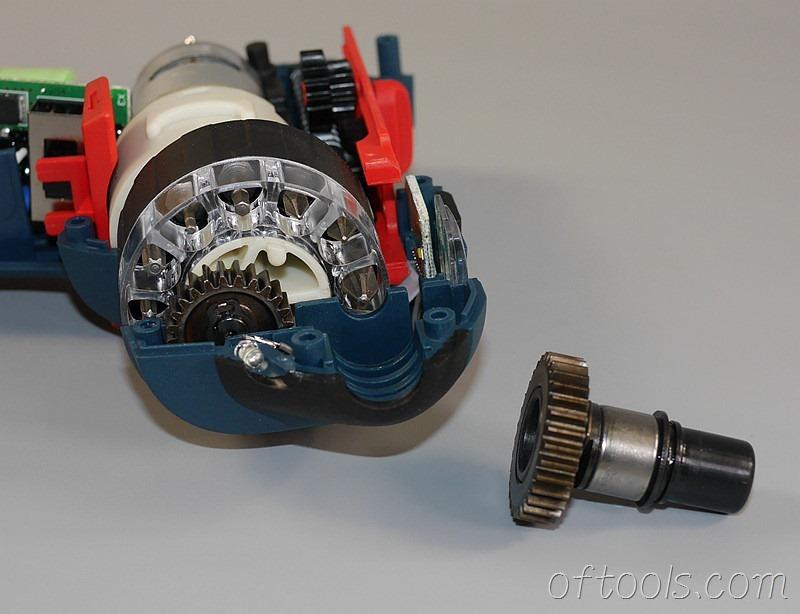 13、博世(BOSCH) GSR BitDrive 左轮起子机的批头连杆
