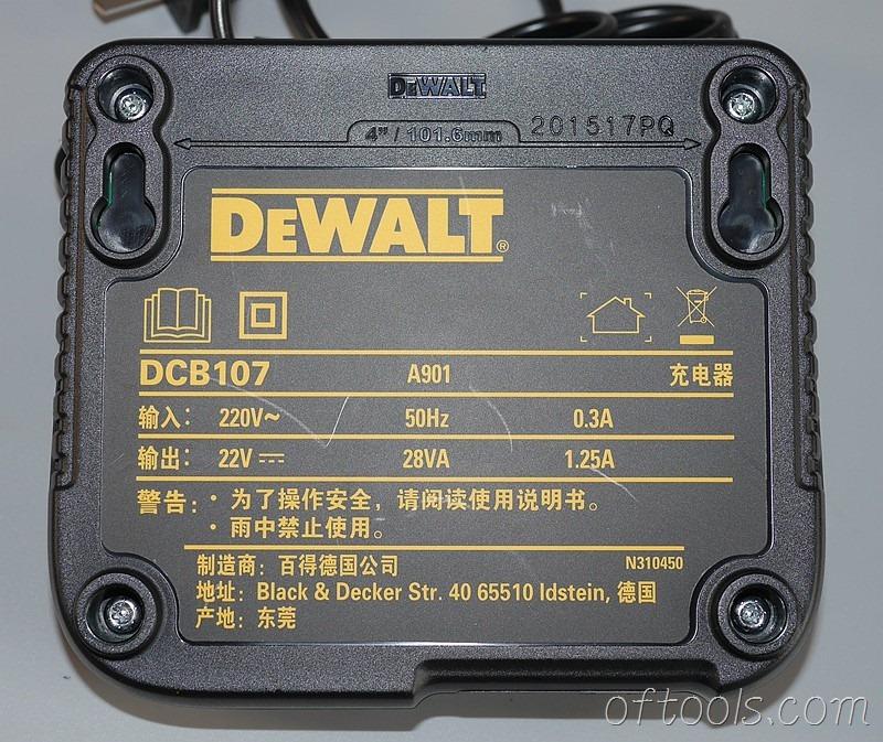 16、得伟(DEWALT)DCD700CK2-A9充电器参数