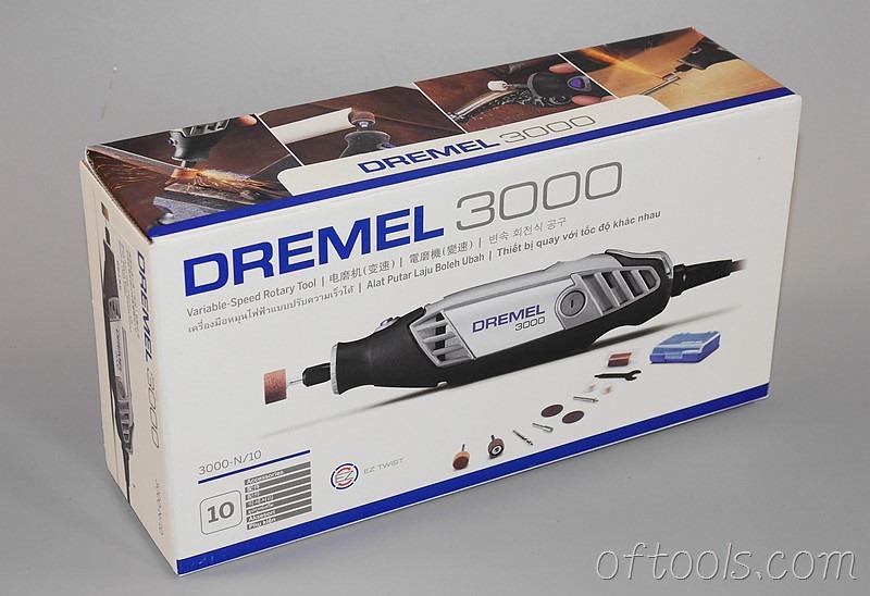 1、琢美(DREMEL) 3000 N10 电磨机包装盒