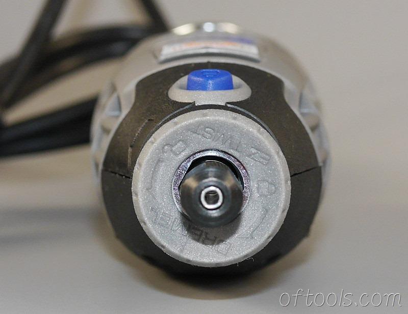 20、琢美(DREMEL) 3000 N10 电磨机头部特写