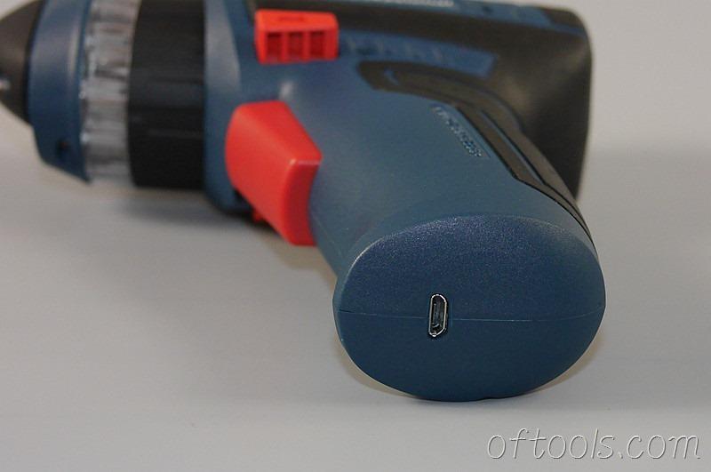 21、博世(BOSCH) GSR BitDrive充电口是Micro USB