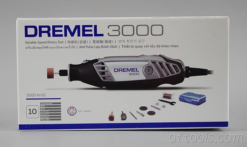 2、琢美(DREMEL) 3000 N10 电磨机包装正面