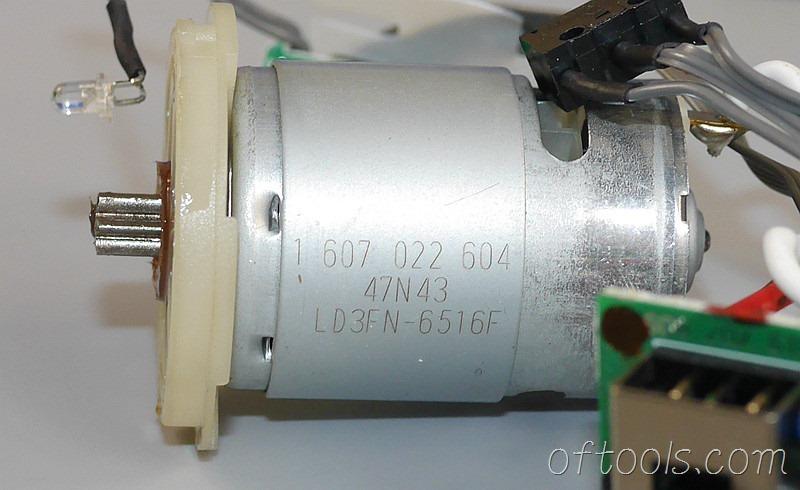 44、博世左轮起子使用的电机的标识