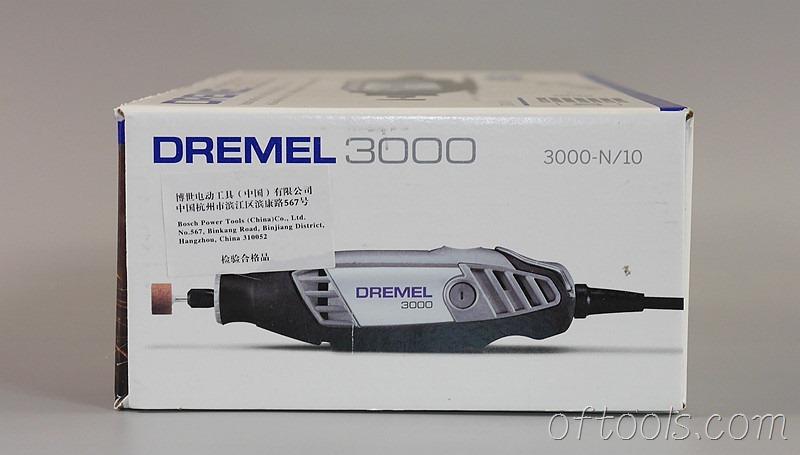 5、琢美(DREMEL) 3000 N10 电磨机包装和另一侧面