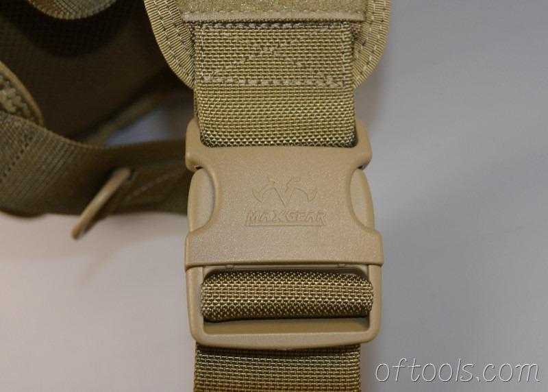 69、马盖先(MaxGear)0418新款激动鞍袋左手版肩带使用50mm多耐福插扣