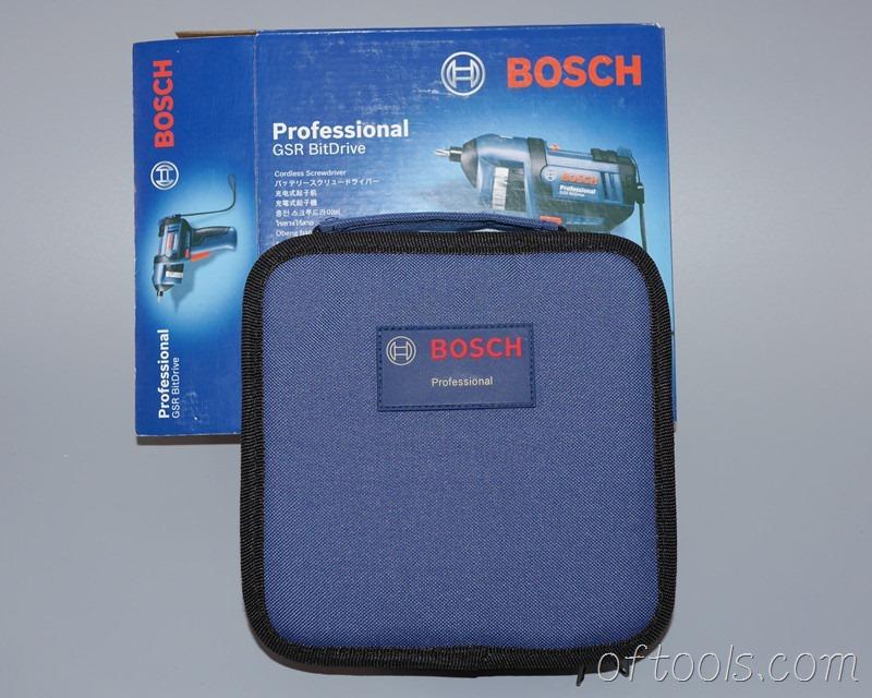 7、博世(BOSCH) GSR BitDrive标配布包