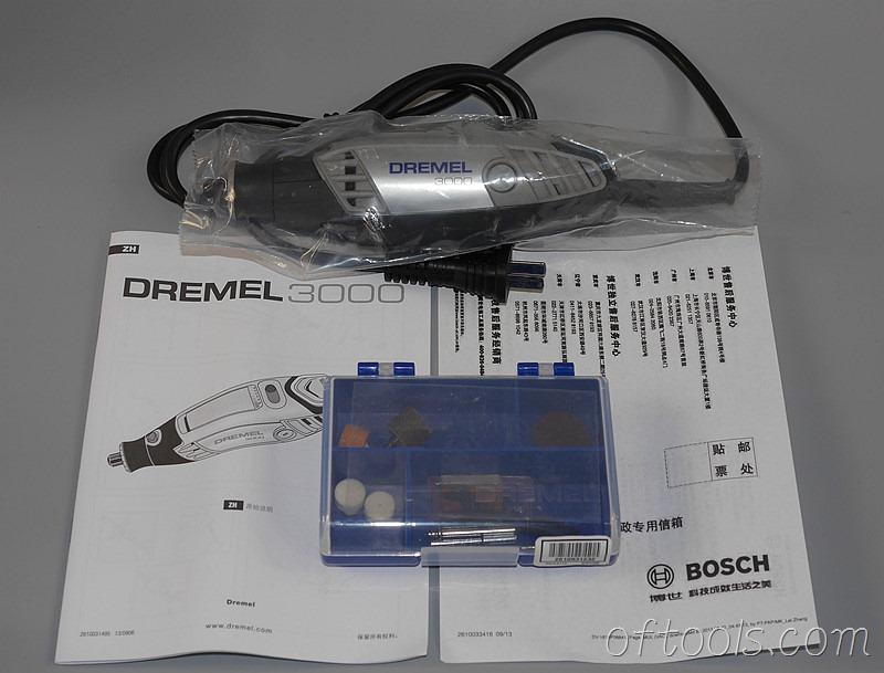 8、琢美(DREMEL) 3000 N10 电磨机全部东西