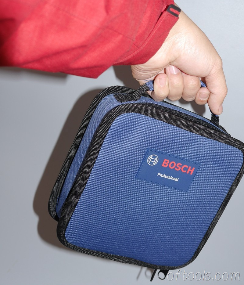 9、博世(BOSCH) GSR BitDrive的布包很便携
