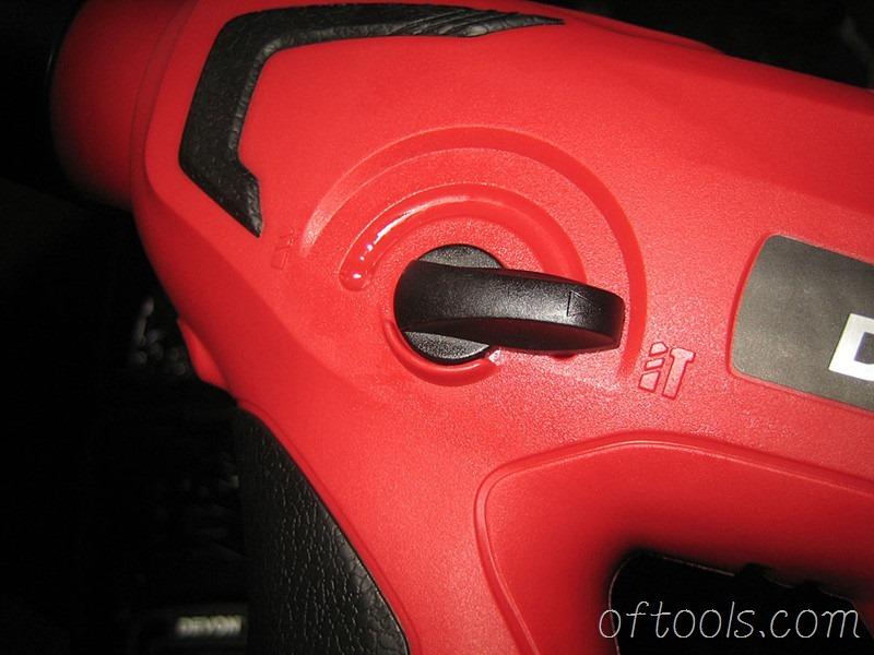 13、大有1702锂电锤模式切换拨杆