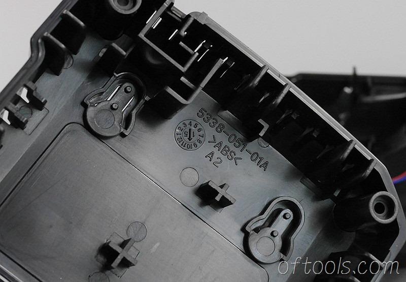 13、大有5401锂电锤充电器5340底壳上的字符