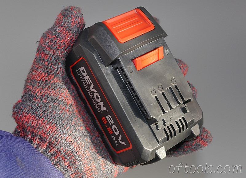 1、大有5150-LI-20-52 20v 5.2Ah电池包
