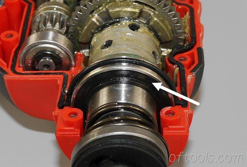 18、大有5401-Li-20RH无刷锂电锤主轴轴承