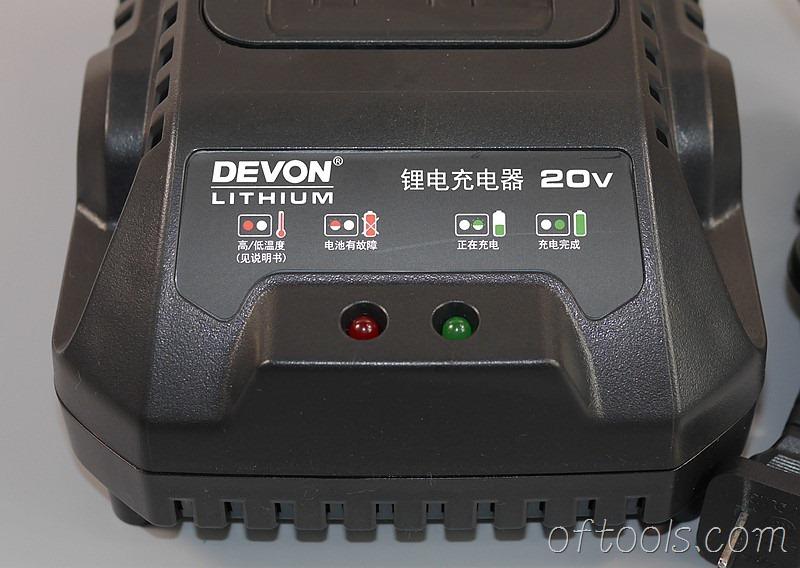 19、大有5401 20v锂电锤充电器(5340)充电指示灯