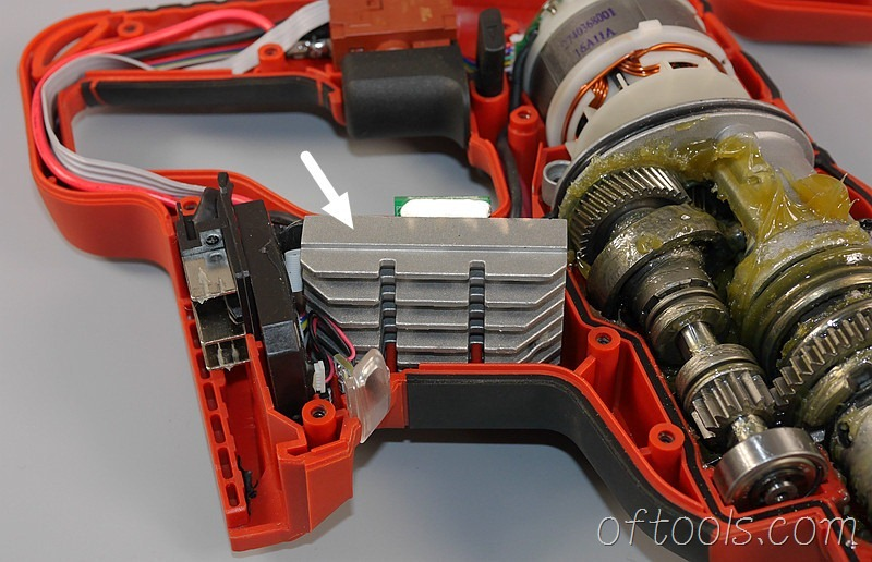 23、大有5401-Li-20RH无刷锂电锤电调散热片