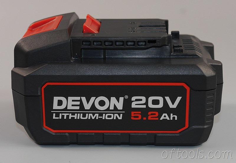 24、大有5401 20v锂电锤5.2AH电池