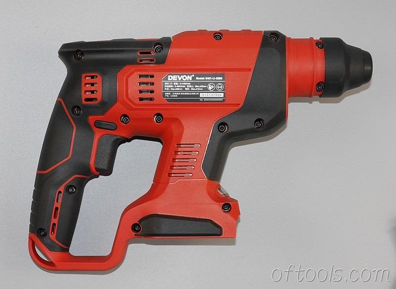 2、大有5401-Li-20RH无刷锂电锤使用15颗螺钉