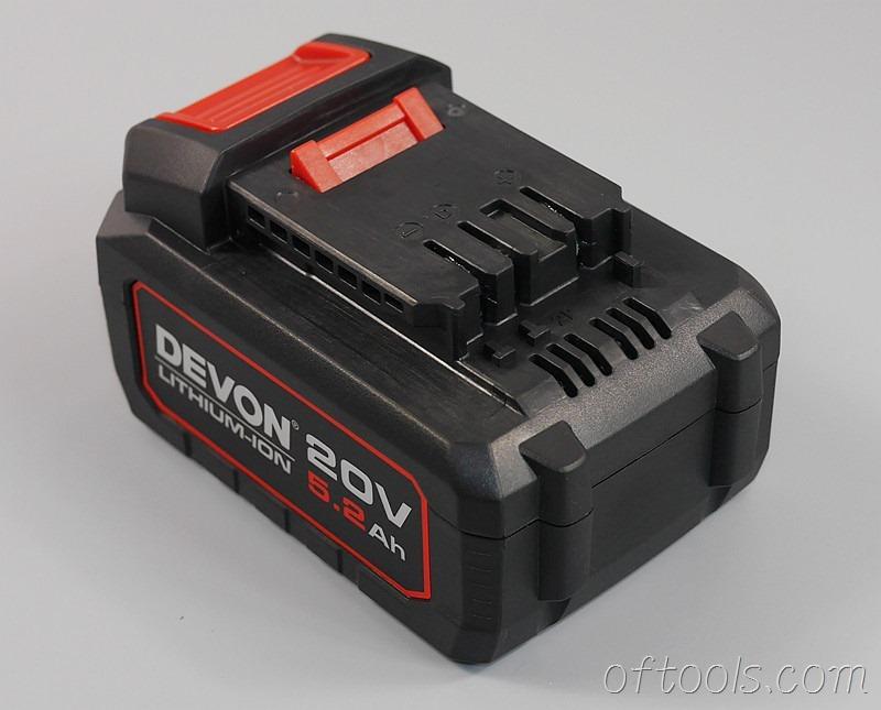 25、大有5401 20v锂电锤5.2Ah电池