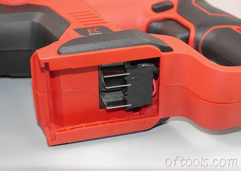 36、大有5401 20v锂电锤电池安装位