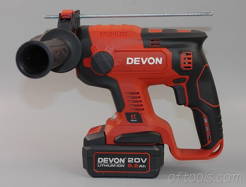 38、大有5401 20v锂电锤手柄方向可以调节