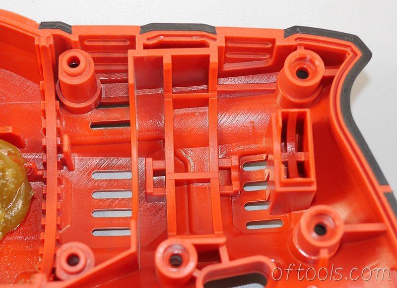 7、大有5401-Li-20RH无刷锂电锤模具特写