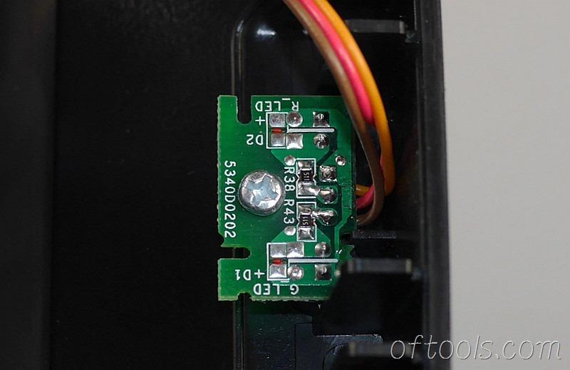 8、大有5401锂电锤充电器5340的状态灯