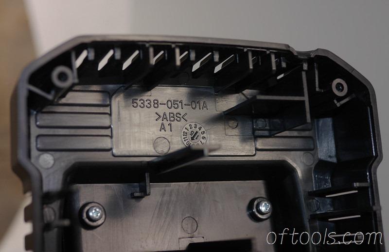 9、大有5401锂电锤充电器5340模具上的字符