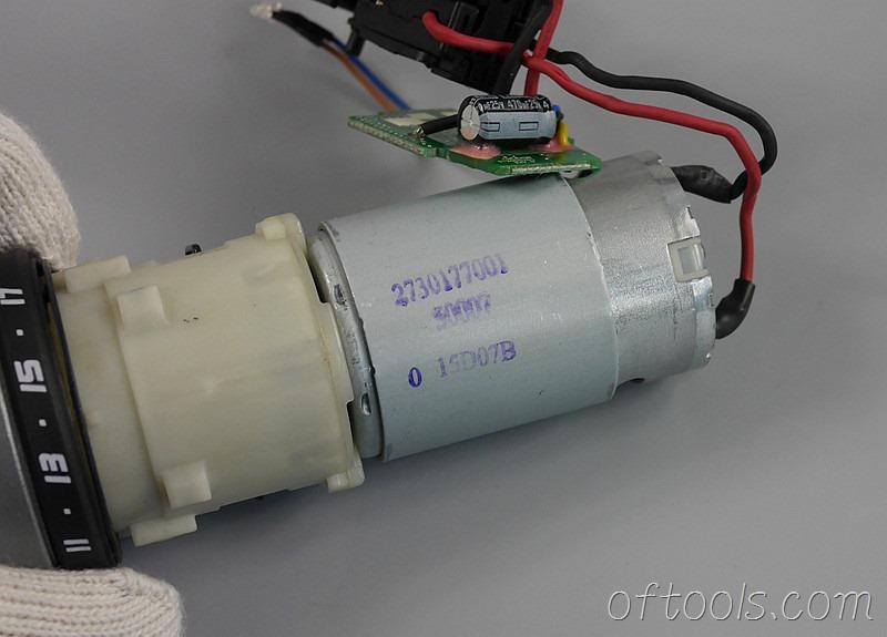 27、大有(devon)5262 12V锂电钻的电机型号