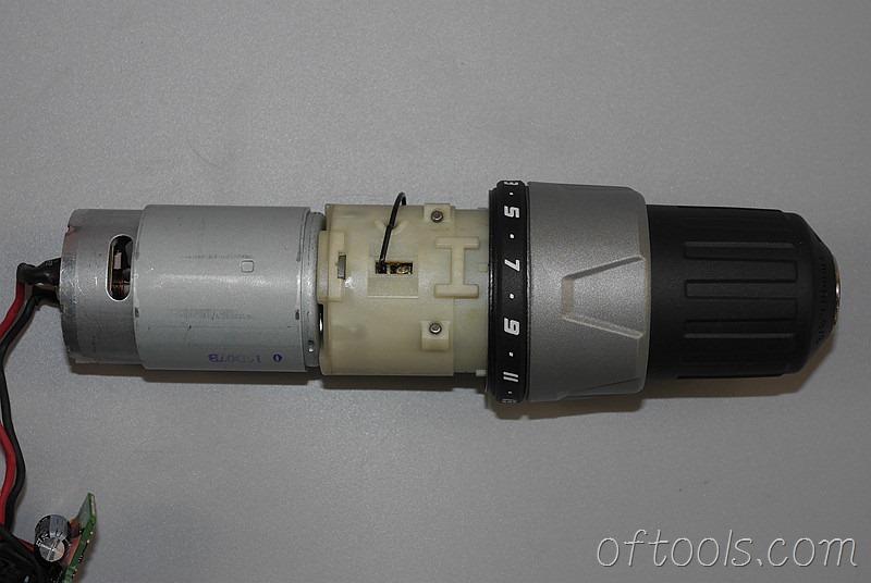 28、大有(devon)5262 12V锂电钻的机芯总成