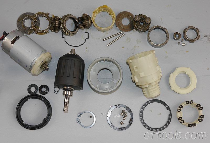 67、大有(devon)5262 12V锂电钻机械机构分解图