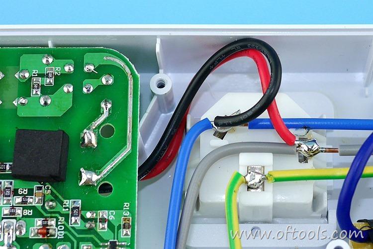 16、ORICO HPC-4A5U 智能插座 5V电路区输入线