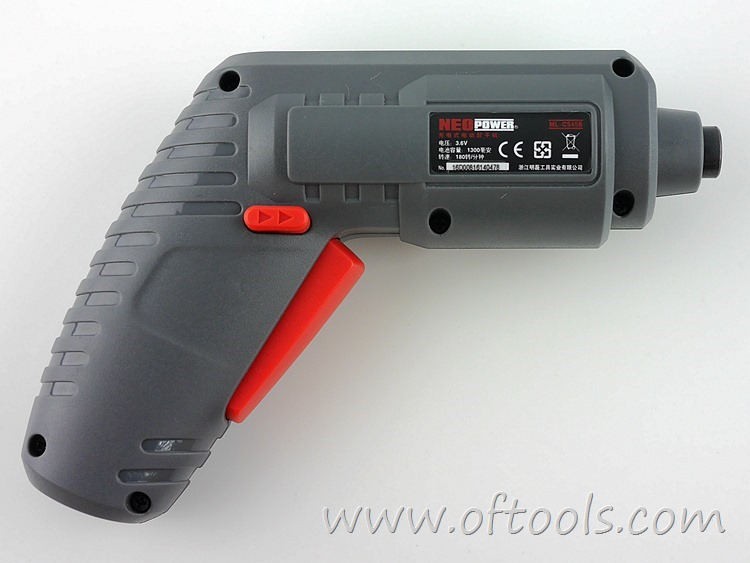 11、尼奥动力(neopower)ML-CS45B 3.6V锂电螺丝刀 机头反面