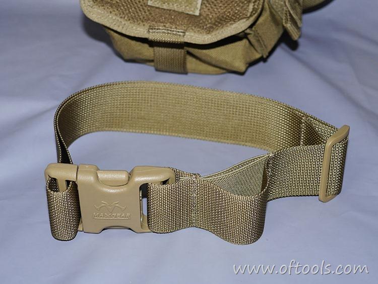 14、马盖先Maxgear机动腰包 0401腿包 固定绑带可以拆卸