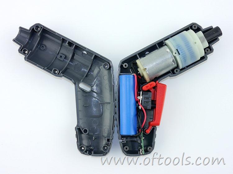 16、尼奥动力(neopower)ML-CS45B 3.6V锂电螺丝刀 开壳