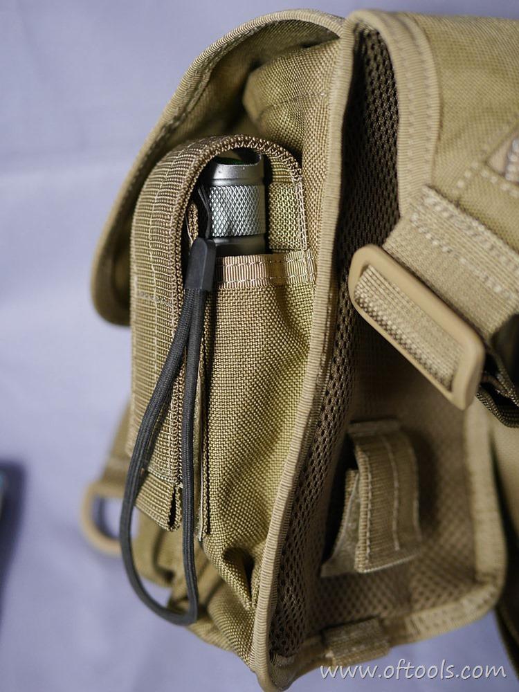 17、马盖先Maxgear机动腰包 0401腿包 侧面附件包放置手电筒
