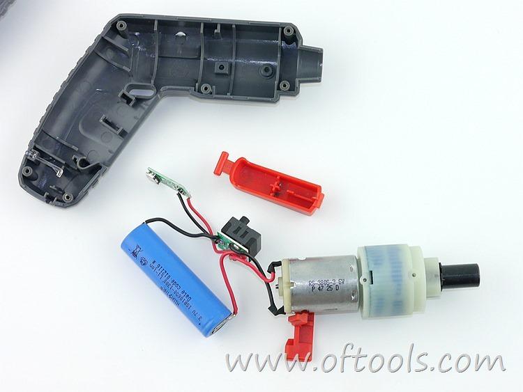 19、尼奥动力(neopower)ML-CS45B 3.6V锂电螺丝刀 机芯总成