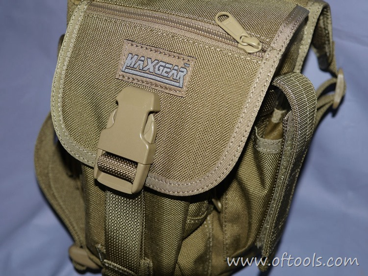 20、马盖先Maxgear机动腰包 0401腿包 的logo标签