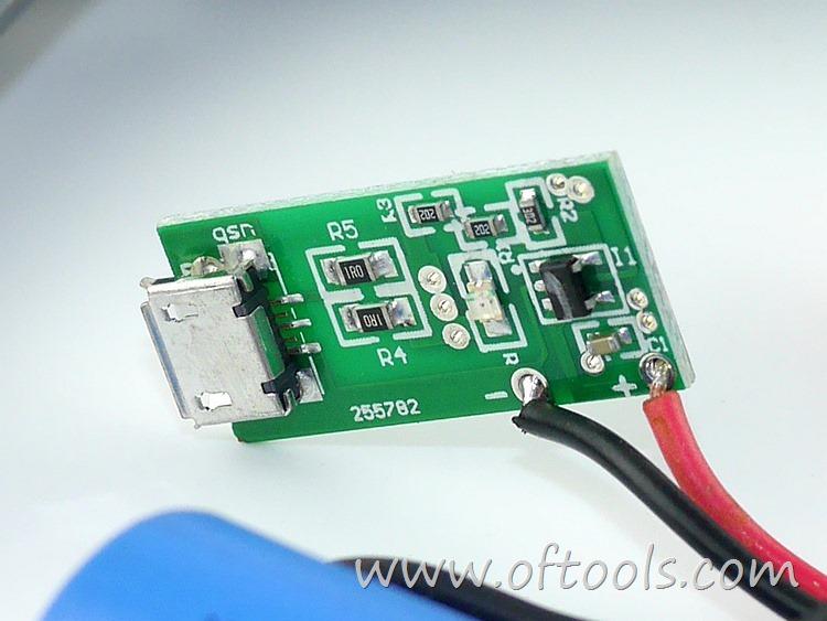 20、尼奥动力(neopower)ML-CS45B 3.6V锂电螺丝刀 microUSB充电板