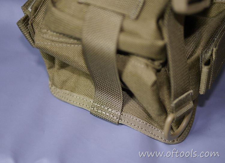 22、马盖先Maxgear机动腰包 0401腿包 缝线特写