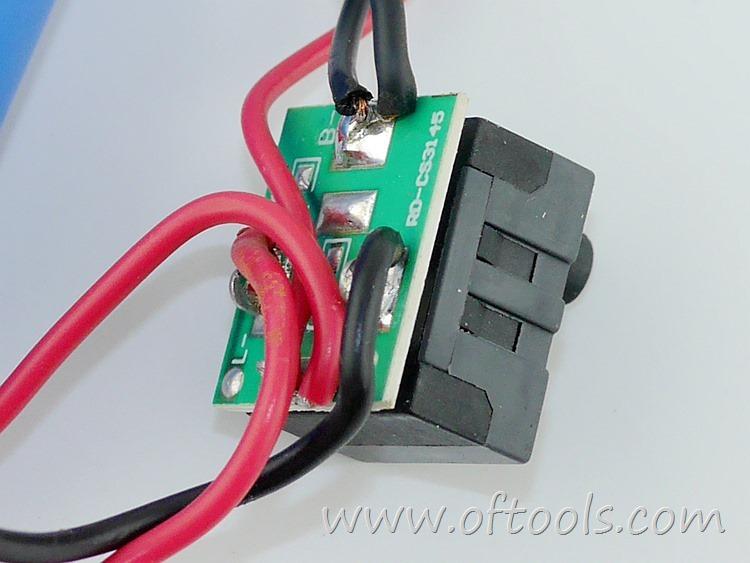 23、尼奥动力(neopower)ML-CS45B 3.6V锂电螺丝刀 控制开关