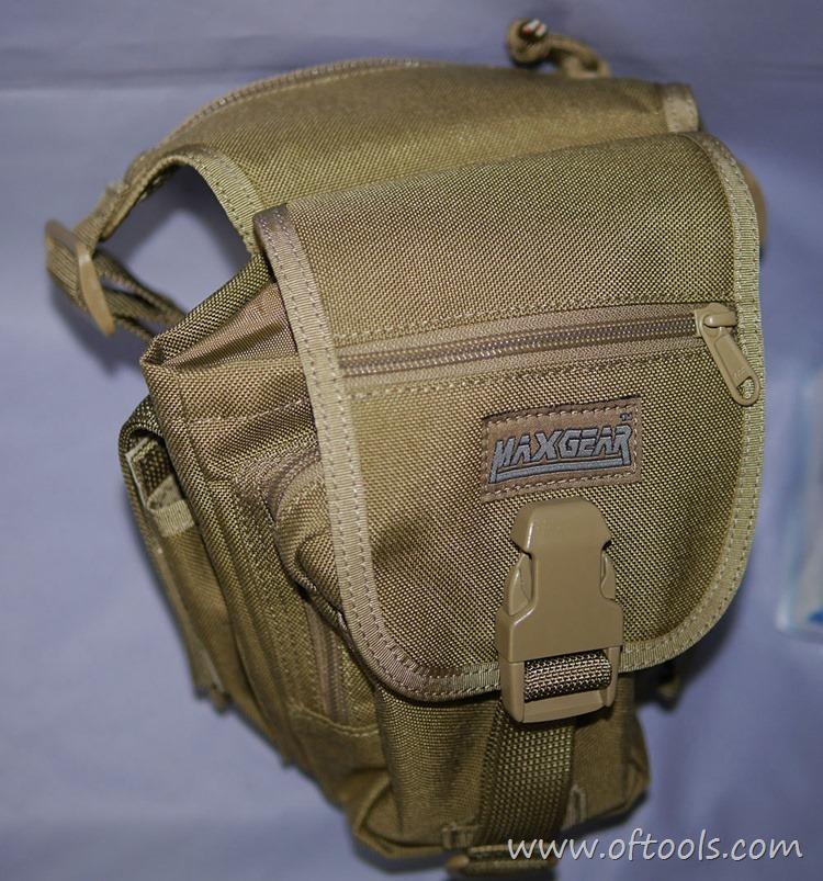 34、马盖先Maxgear机动腰包 0401腿包 主袋挤扁变形