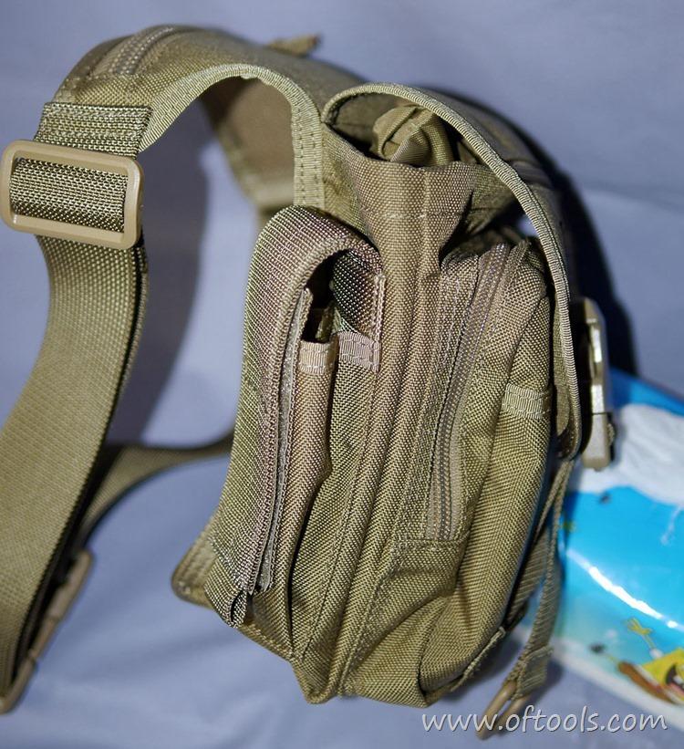 35、马盖先Maxgear机动腰包 0401腿包 主袋挤扁变形