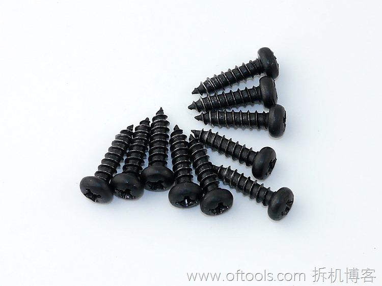21、WORX WX316.2冲击钻壳体使用10颗粒螺丝固定