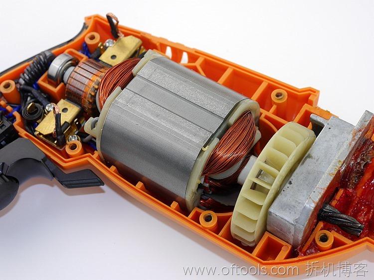 32、WORX WX316.2冲击钻的动力部分