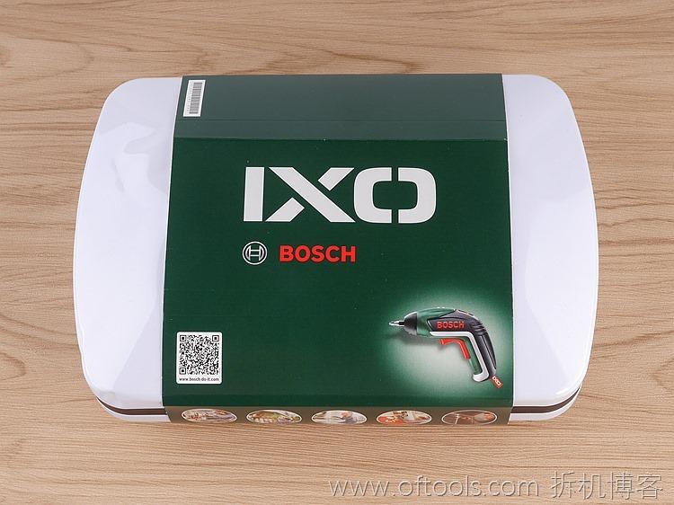 1、博世bosch IXO锂电起子铁盒装