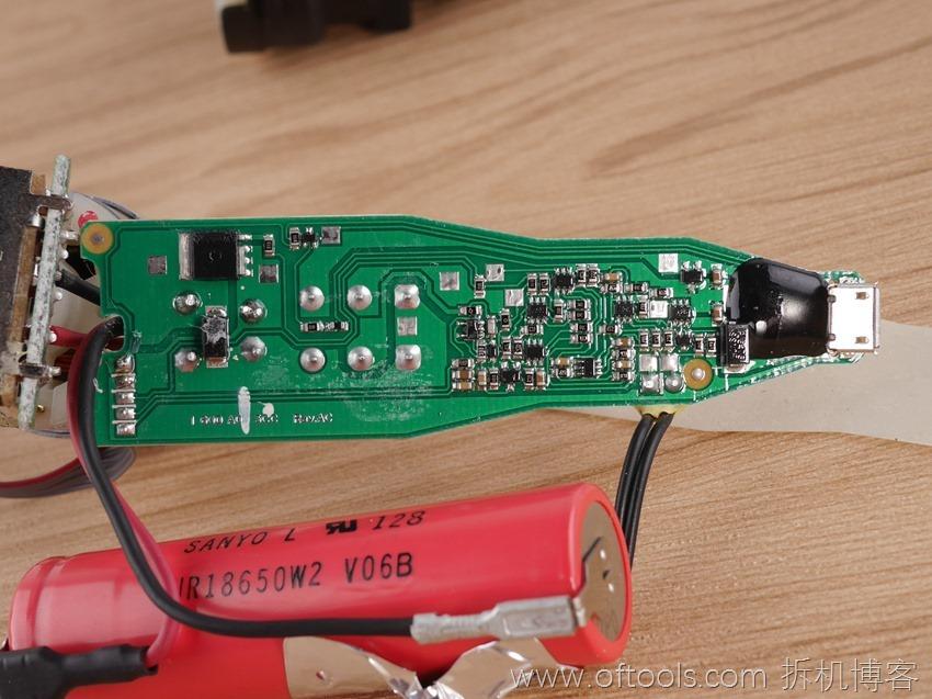 25、博世bosch IXO锂电起子电路板特写
