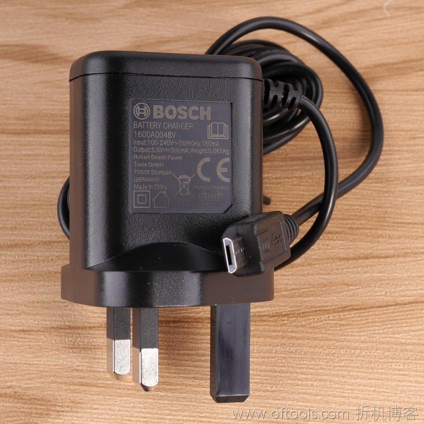 7、博世bosch IXO锂电起子铁盒装英标电源适配器